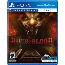 PS4 Until Dawn Rush of Blood VR NEW Sealed Region Free USA Virtual Reality Game