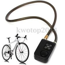 Electronic Anti-Theft Lock Code Controlled Alarm Security Safe Chain For Bicycle