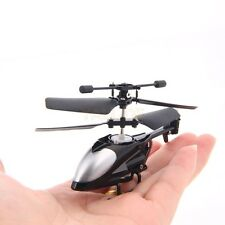 Mini Helikopter Mikro QS-5013 2,5 Kanal 2,4GHz Nano RC Hubschrauber Gyro Schwarz