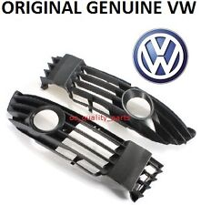 ORIGINAL GENUINE VW PASSAT B5 FL B5.5 FRONT BUMPER LEFT + RIGHT GRILLE FOG TYPE