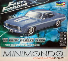 KIT 1969 CHEVROLET CAMARO YENKO FAST AND FURIOUS 1/25 REVELL MONOGRAM 4314