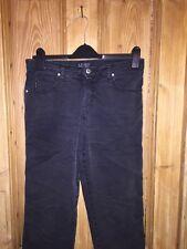 """Armani Jeans Negro lavado de algodón Talla W31 """"para"""" * K2"""