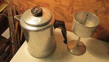 Comet Aluminum Stove Top Coffee Pot  9 cup