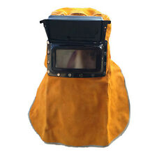 Welding Heat insulation Protection Safety Leather Face Mask Welding Helmets Mask