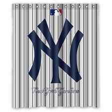 New Rare New York Yankees Baseball Custom Shower Curtain 60 x 72""