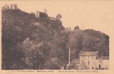 MERVENT 2 moulin du portail ruines du vieux château