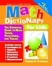 Math Dictionary for Kids, 4E: The Essential Guide to Math Terms, Strat-ExLibrary