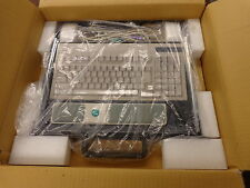 Industrial Keyboard & Tracball 1U slide out rack tray, NIB, PS-2, Cyber Research