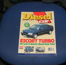 DIESEL CAR ISSUE 60 SEPTEMBER 1993 - ESCORT TURBO/NISSAN SERENA 2.0D/CAVALIER