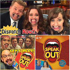 Speak Out Speakout Board Game Party Mouthguard Mouthipiece Birthday Gifts