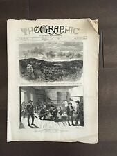 """""""THE GRAPHIC"""" (A Beautifully Illustrated British Weekly Newspaper)- May 21, 1881"""