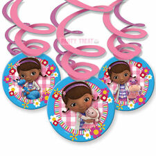 Doc McStuffins Birthday Party Supplies Hanging Swirls Swirling Decorations Foil