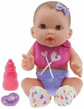 JC Toys 12'' Lil Cutesies All Vinyl baby doll Ages 2+ New with Pacifier & Bottle