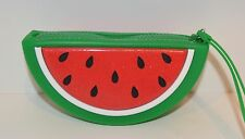 BATH & BODY WORKS WATERMELON BEAUTY MAKEUP BAG COSMETIC COIN PURSE WALLET CLUTCH