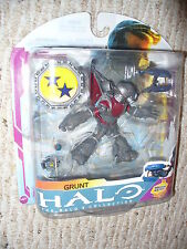 "HALO 3 McFarlane Toys 5"" figure, The Halo 3 Collection, Grunt , dated 2009"