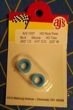 AJ'S 100F Silicone Blue Tires TYCO HP7 Tomy AFX Turbo Aurora Magnatraction