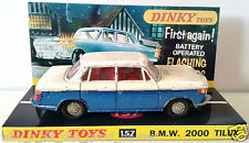 Vintage 60s DINKY TOYS 157 BMW 2000 TILUX Diecast Model Vehicle & Custom Display