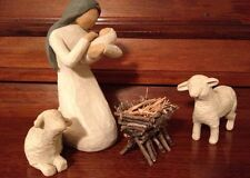 Nativity Manger - Handcrafted With Sticks And Twigs. **Willow Tree Compatible**