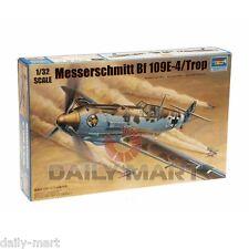 Trumpeter 1/32 02290 Messerschmitt Bf 109E-4 Tropical Model Kit