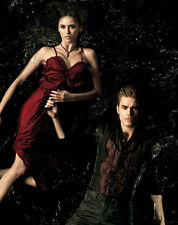 Paul Wesley and Nina Dobrev UNSIGNED photo - D1413 - The Vampire Diaries