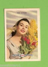 #D160. 1958-64  ATLANTIC PETROLEUM FILM STARS CARD #13  ANNE HEYWOOD