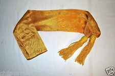 Yellow Sash Silk w/Tassels - Cavalry - Civil War - L@@K!