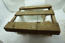 """ANTIQUE CAST IRON SINK PORCELAIN BATHROOM BOWL BASIN NEW-OLD STOCK IN CRATE 12"""""""