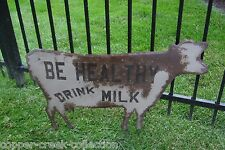 LARGE COW Farm Milk Dairy SIGN*Primitive French Country Kitchen Wall Decor