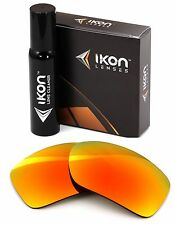 Polarized IKON Replacement Lenses Von Zipper Gatti Sunglasses Fire Mirror