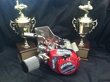 Go Kart Racing Championship Level AKRA Box Stock over 14hp Jr Plate Class
