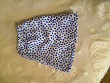 DOLL CLOTHES 4 AMERICAN GIRL LONG SKIRT  whte blue dots
