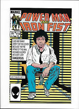 """POWER MAN & IRON FIST #114  [1985 VG-FN]  """"SQUEEZE!"""""""
