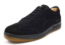 Louis Vuitton Men's Shoes Size 10, 11 US Suede Lace Up Sneakers Black
