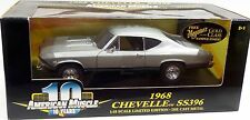 ERTL 1/18 1968 Chevy Chevelle SS396 SEAFROST GREEN Car 32494 NEW American Muscle