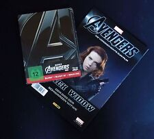 AVENGERS - GERMANY BLU-RAY STEELBOOK WITH IN STORE BONUS COMIC - NEW & SEALED!