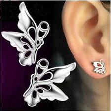 925 Sterling Silber Ohrstecker Ohrringe Schmetterling Ohrhänger Neu