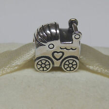 New Authentic Pandora 790346 Baby Carriage Bead  Box Included