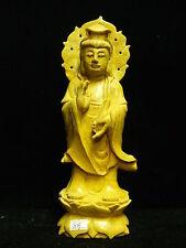 Yellow Jade Standing Kwanyin (YJ08)