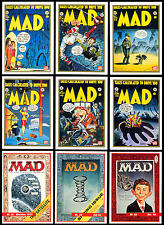 MAD MAGAZINE SERIES 1 1992 LIMEROCK COMPLETE BASE CARD SET OF 55