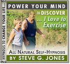 DR.STEVE G JONES Clinical Hypnotherapist LOVE TO EXERCISE SELF HYPNOSIS CD