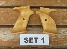 CROSMAN CUSTOM IDIGBO  WOODEN GRIPS  TO FIT 2240,2250,1377 AND 1322 SET 1