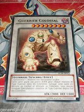 Carte YU GI OH GUERRIER COLOSSAL DL09-FR012 OR