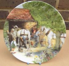 Royal Doulton Old Country Crafts Collector Plate-IL FABBRO