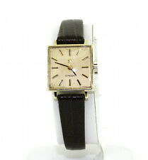 Vintage Ladies OMEGA 14K Yellow Gold Manual Wind Dress Watch