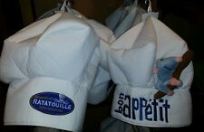NEW Disney Parks RATATOUILLE White BON APPÉTIT Remy Plush Chef Hat! Pixar