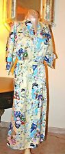 VINTAGE LOTUS ORIENTAL CHINESE COLORFUL ROBE xl/xxl  (1X?)