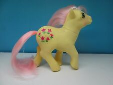 My little pony G1 Posey - magenta flowers (3)