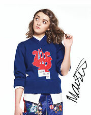 MAISIE WILLIAMS #1 10X8 PRE PRINTED (SIGNED) LAB QUALITY PHOTO - FREE DELIVERY