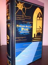 EDGAR ALLAN POE - STORIES AND POEMS LEATHER BOUND BOOK HARDBACK