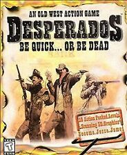 Video Game PC Desperados be quick or be deadBIG BOX NEW SEALED